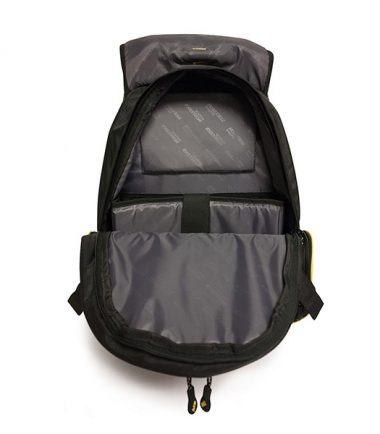 Premium Backpack - Black with Red Trim-19255