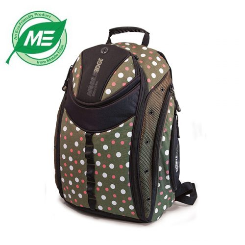 Express Backpack (Eco-Friendly, Green Dots)-0
