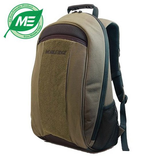 Eco-Friendly Laptop Backpack - Olive Green
