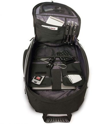 Express Laptop Backpack - Black / Silver - hold up to 16 inch Laptops