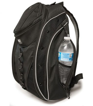 Express Backpack 2.0 - Black / Silver - Side pockets to store all your gear