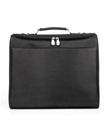Mobile Edge - 2.0 Express Notebook Case 15.6 inch/16 inch - Black- Back with File Compartment