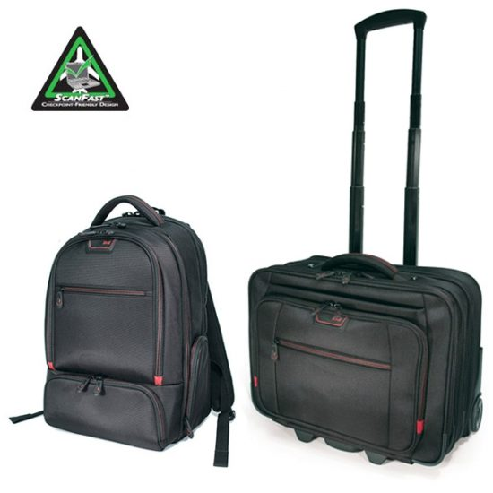 Professional Backpack and Rolling Case Combo-MEPBPRC