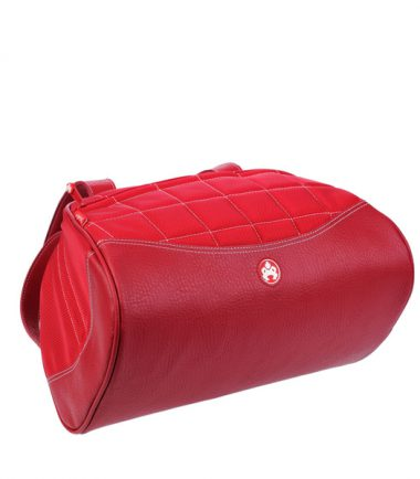 Sumo Duffel - Red with White Stitching - Superior Construction