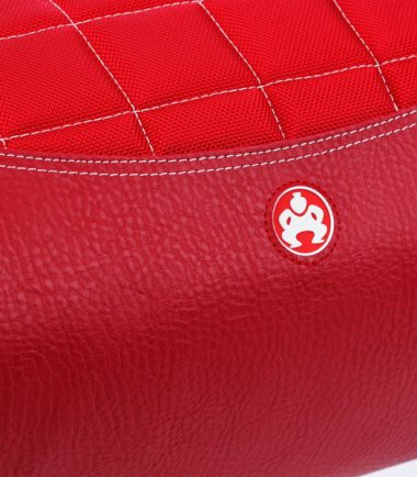 Sumo Duffel - Red with White Stitching - Large-20779
