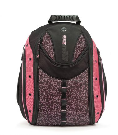 Express Laptop Backpack (Pink Ribbon) - Fits laptops with screens up to 16 inch