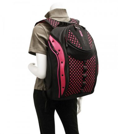 Express Backpack - Pink Dots-19978