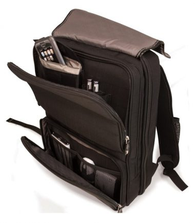 ScanFast Onyx Checkpoint Friendly Laptop Backpack - Lots of pockets to store all your gear