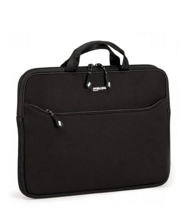 SlipSuit (Black) laptop bag - 17.3 inch - Full-size external pocket for AC adapter, files, CDs and other accessories