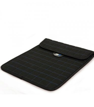 NeoGrid Tablet Sleeve (Black with Blue Stitching)-19901