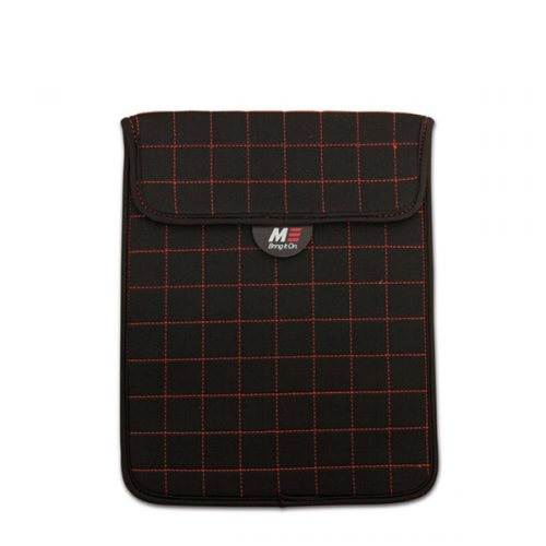 """NeoGrid iPad Mini 7"""" Tablet Sleeve (Black with Red Stitching)-0"""