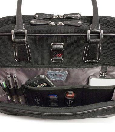 """Classic Corduroy Laptop Tote (Small - 14.1"""")-20251"""