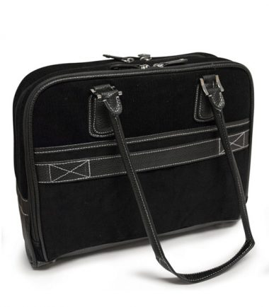 """Classic Corduroy Laptop Tote (Small - 14.1"""")-20247"""
