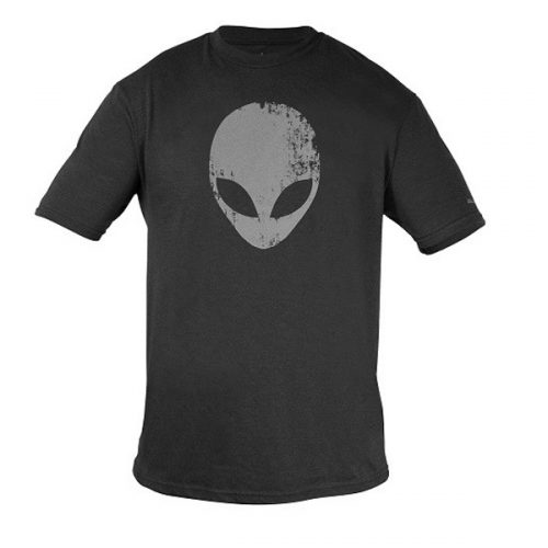 Alienware Distressed Head Gaming Gear tri-blend T-shirt - Size M-0