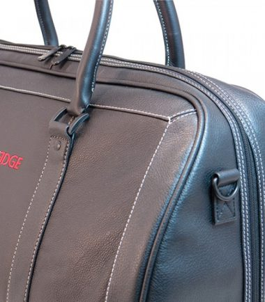 Deluxe Leather Duffel-21534