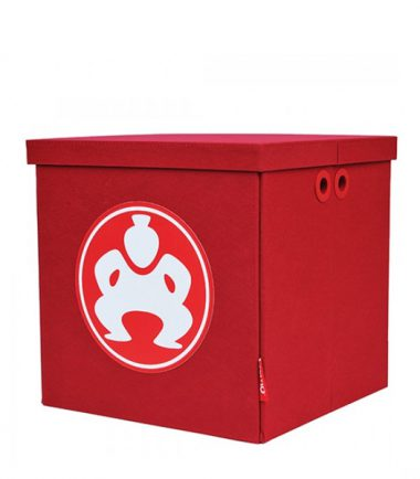 """Folding Furniture Cubes - 14"""" Red-0"""