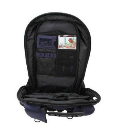 ECO Laptop Backpack (Eco-Friendly) 17.3 inch - Additional sections for files, folders, magazines and accessories