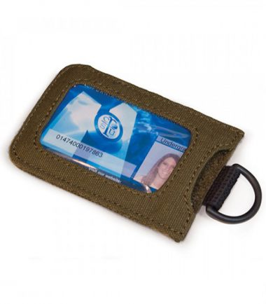 MECME9 - Eco-Friendly Laptop Messenger (Olive) - Removable ID Holder with Multiple Anchor Locations