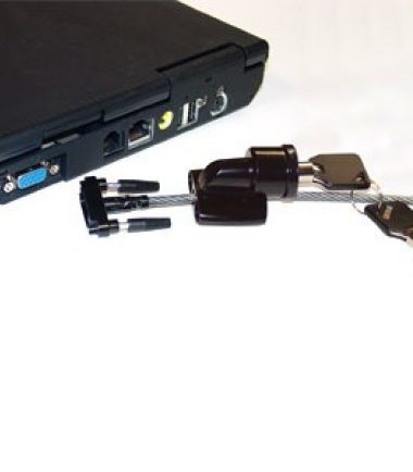 SecuriCable Notebook Keyed Lock - Removed