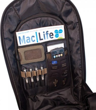 ECO Laptop Backpack (Eco-Friendly) 17.3 inch - Removable ID Holder with Multiple Anchor Locations