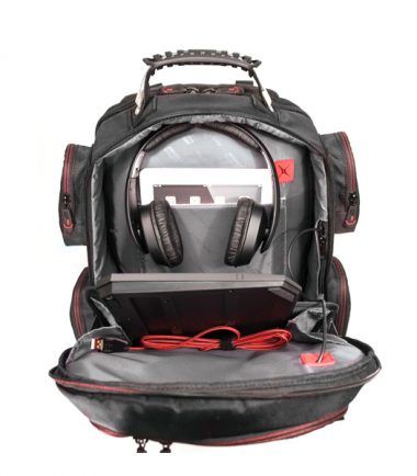 """Core Gaming Backpack w/Molded Panel 17""""-22356"""