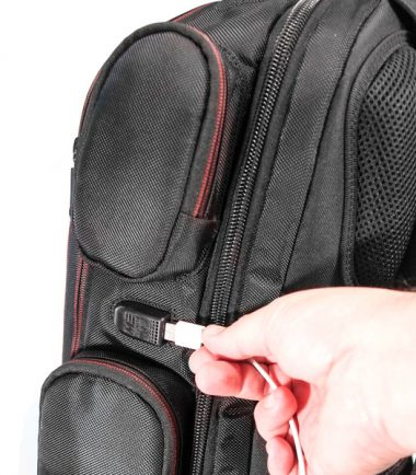 """Core Gaming Backpack w/Molded Panel 17""""-22359"""