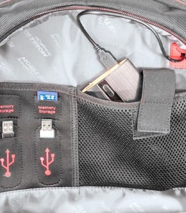 """Core Gaming Backpack w/Molded Panel 17""""-22362"""