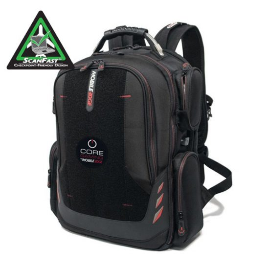 """Core Gaming Backpack w/Velcro Panel 17.3""""-0"""