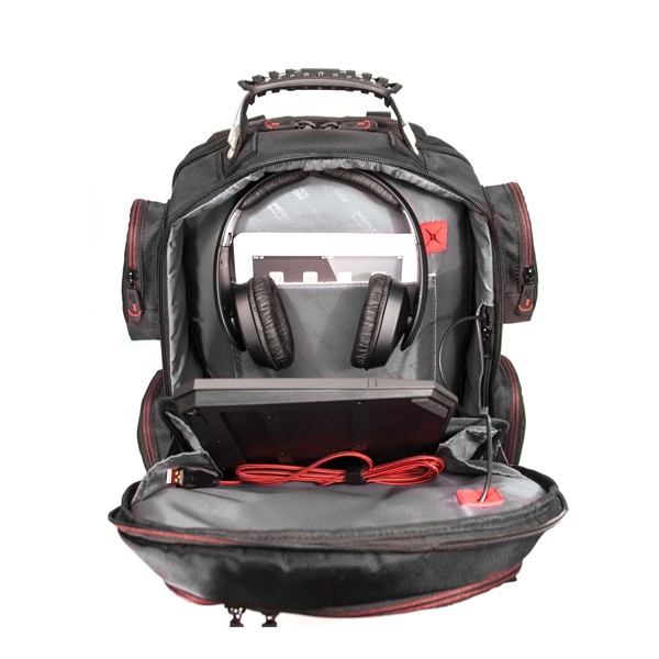 """Core Gaming Backpack w/Velcro Panel 17.3""""-22870"""