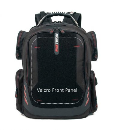 """Core Gaming Backpack w/Velcro Panel 17.3""""-22876"""