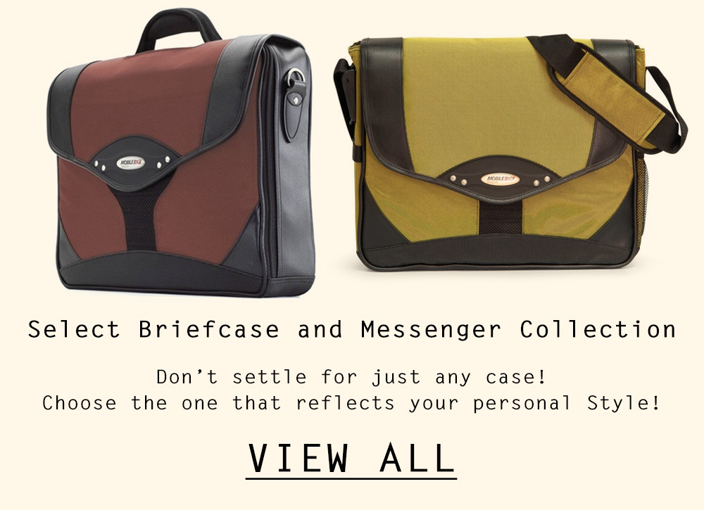 View Select Briefcase and Messenger Collection