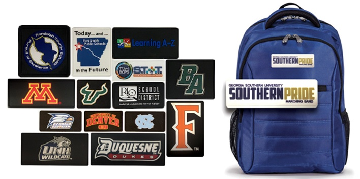 Education Channel Smartpack - Sample of education logo patches