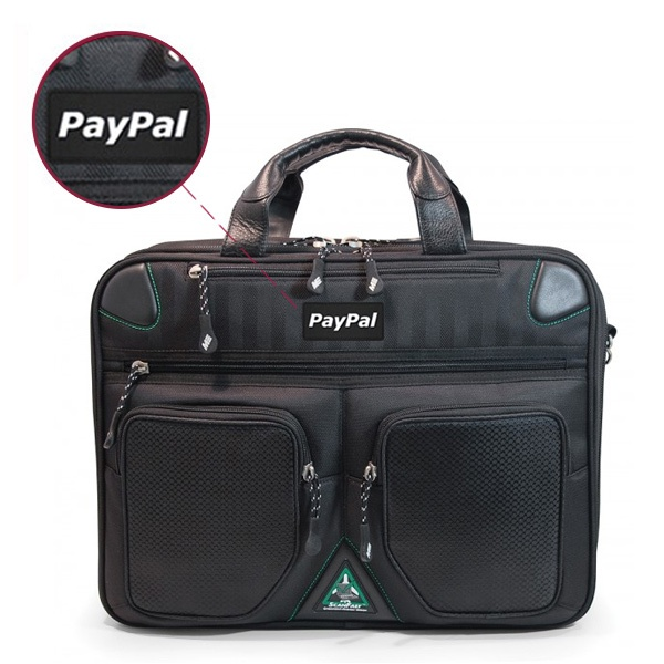 ScanFast Checkpoint Friendly Briefcase 2.0 - Sample Logo - Rubber Patch