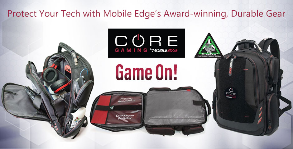 Protect Your Tech with Mobile Edge's Award-winning, Durable Gear