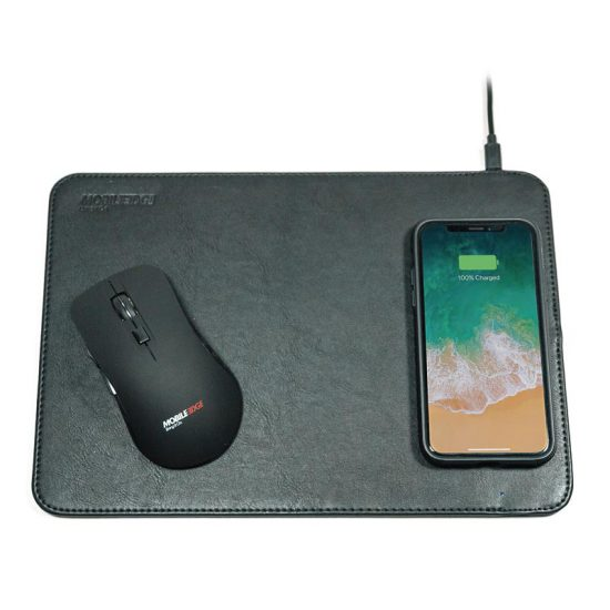 MEAMPWC Wireless Charging Mouse Pad - charging mobile