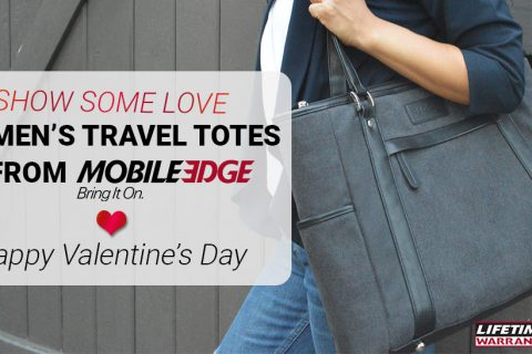 Show Some Love With Mobile Edge Travel Totes