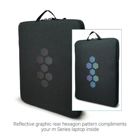 Alienware m Fabric Sleeve with Reflection Graphic Front AWM15FSL/AWM17FSL