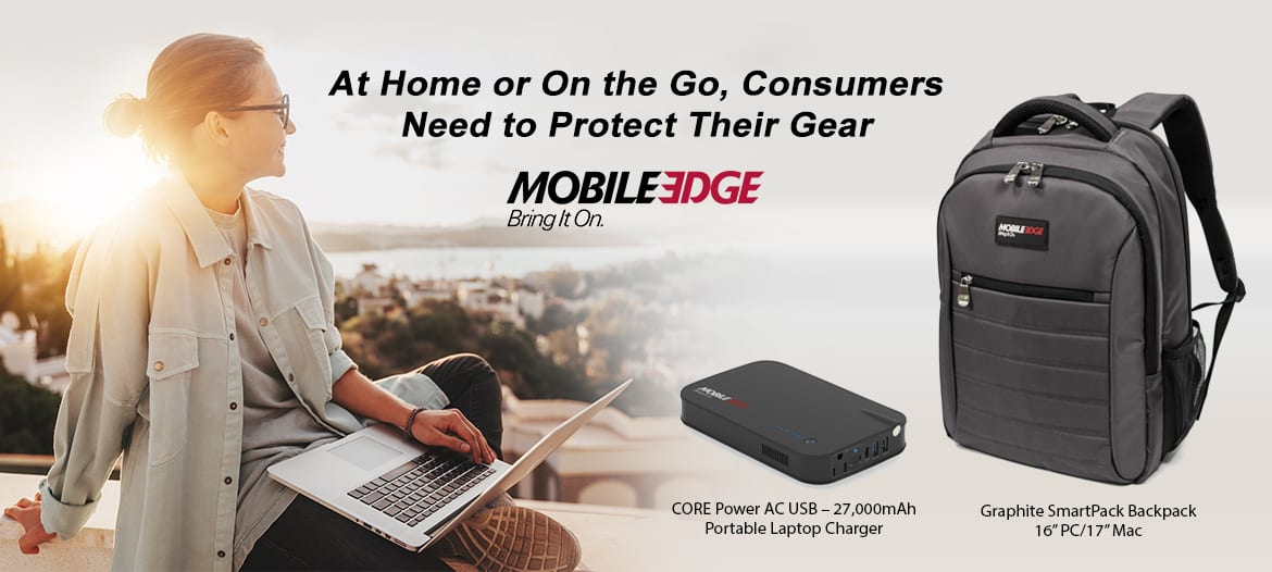 At Home or on the Go, Consumers Need to Protect Their Laptops, Tablets, and Other Gear