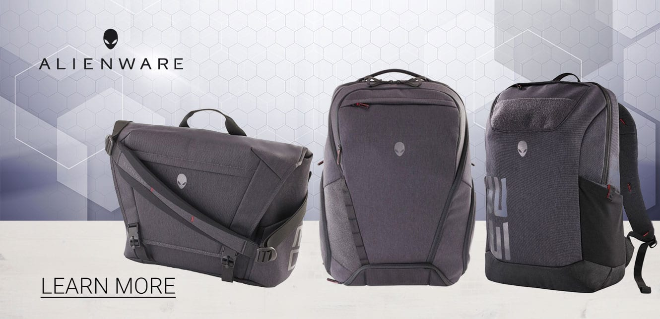 Learn More about Alienware Gaming Laptop Bags