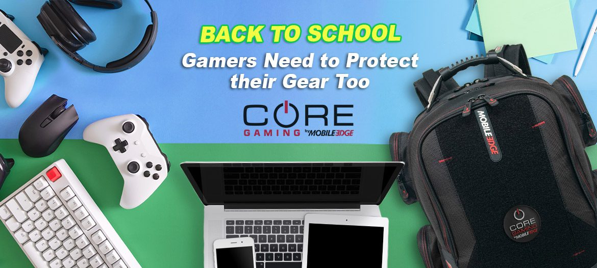 Mobile Edge Leads the Way with Console-Ready Gaming Backpacks, Mobile Power & More!