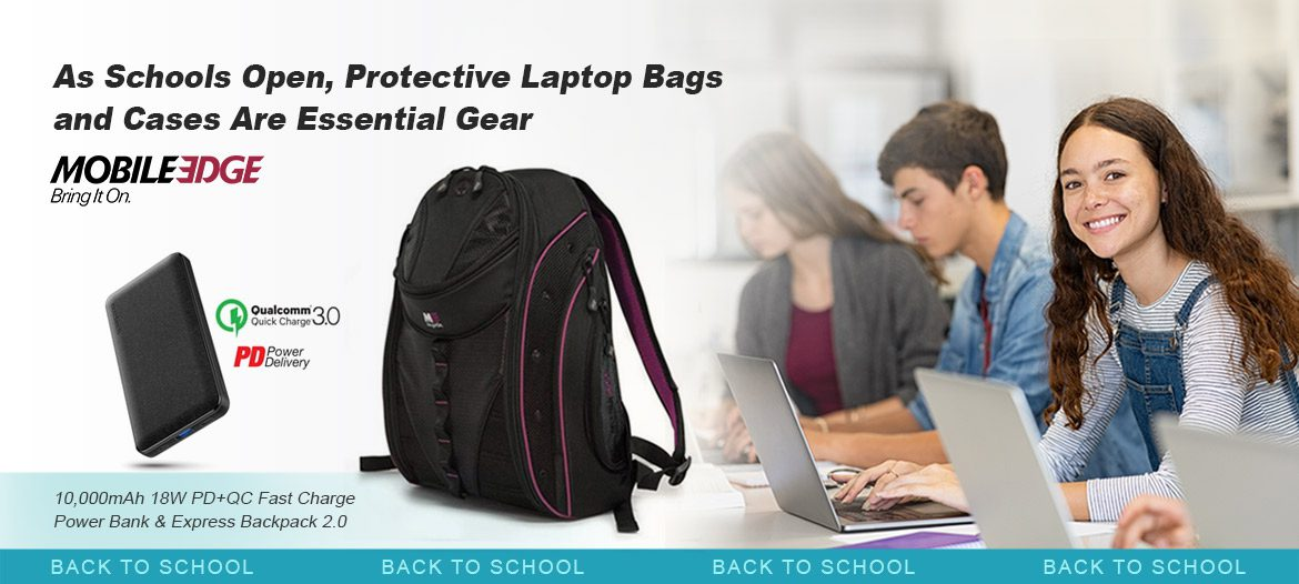 As Schools Open, Protective Laptop Bags and Cases Are Essential Gear