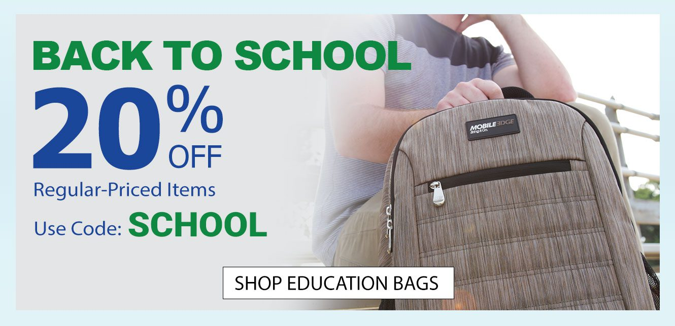 Back to School Sale - 20% Off Regular Priced Items