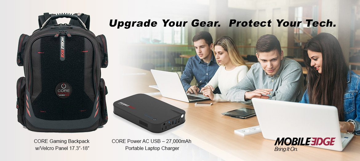 Blog - Upgrade Student Tech And Backpack Carry Options With Mobile Edge