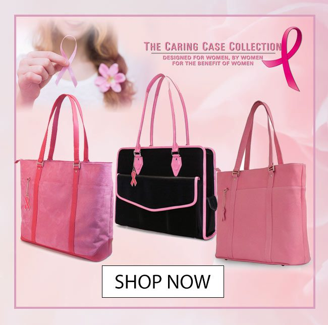 October is Breast Cancer awareness month - Shop Mobile Edge Caring Cases